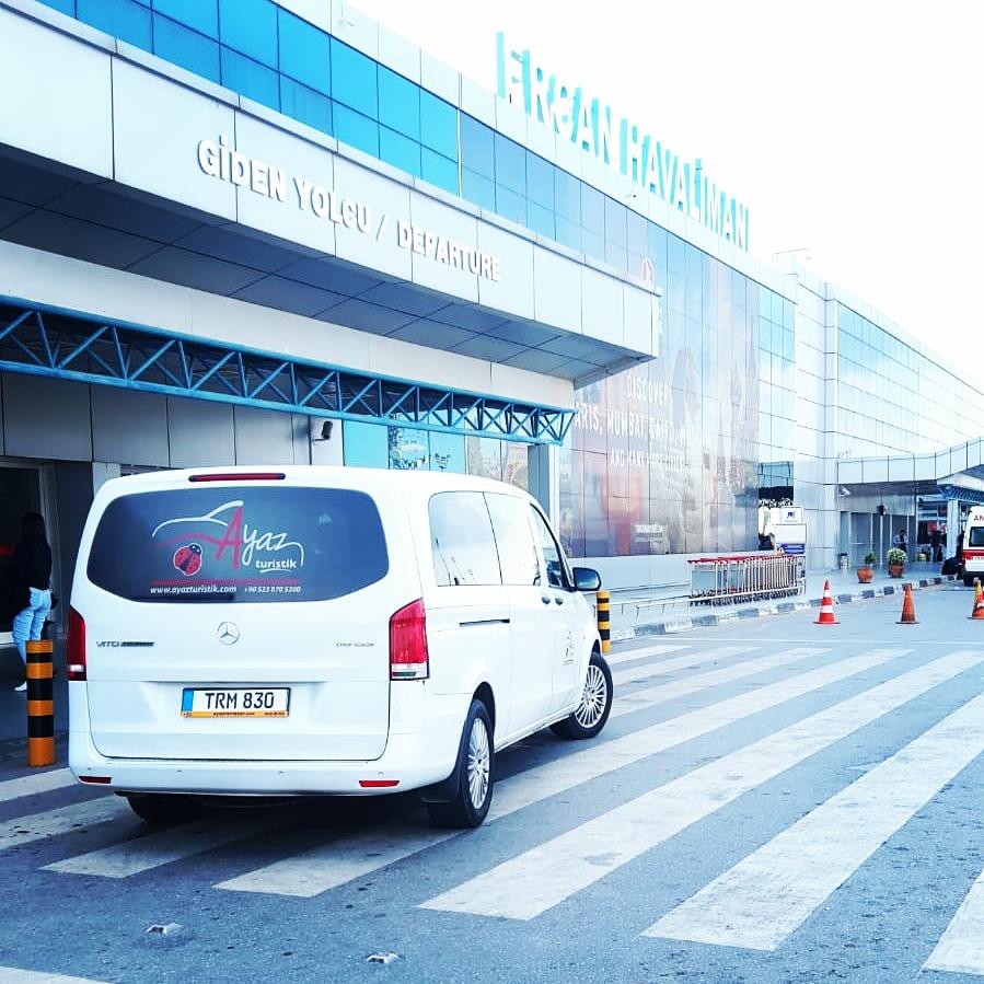 ercan airport taxi terminal
